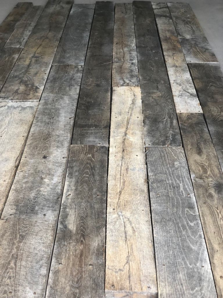 Old Reclaimed French Floorboards Romorantin Bca Mat 233 Riaux