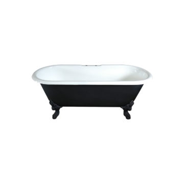 clawfoot tub antique style