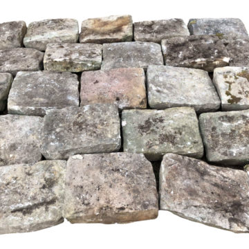 reclaimed sandstone flooring