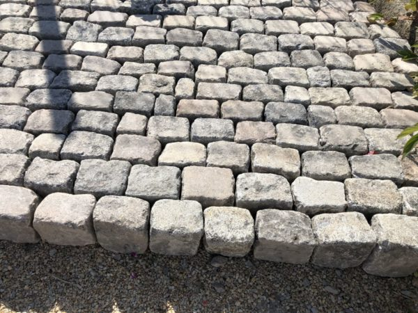 reclaimed cobble stone from france granit stone