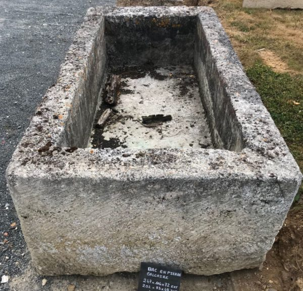giant or huge stone trough