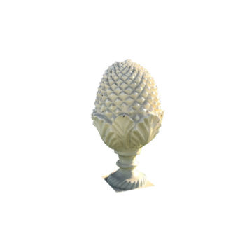 pine cone in cast iron antique