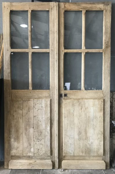 glazed panels doors antique finish