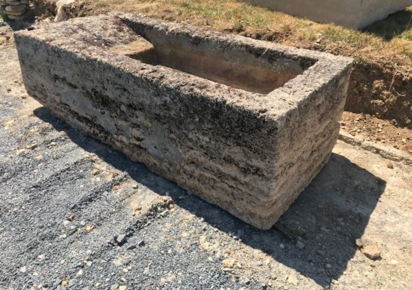limestone washing planter