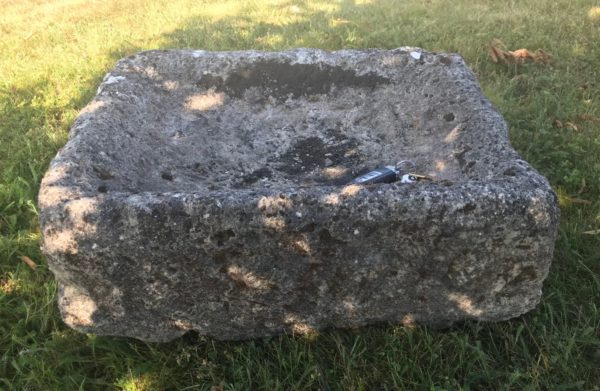 antique stone trough square