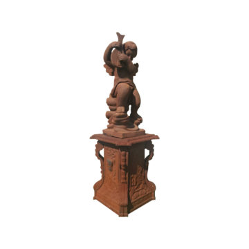 antique style putti reproduction for garden