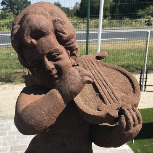 cast iron putti new reproduction