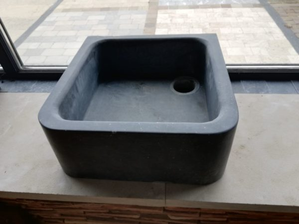 kitchen sink natural stone square shape