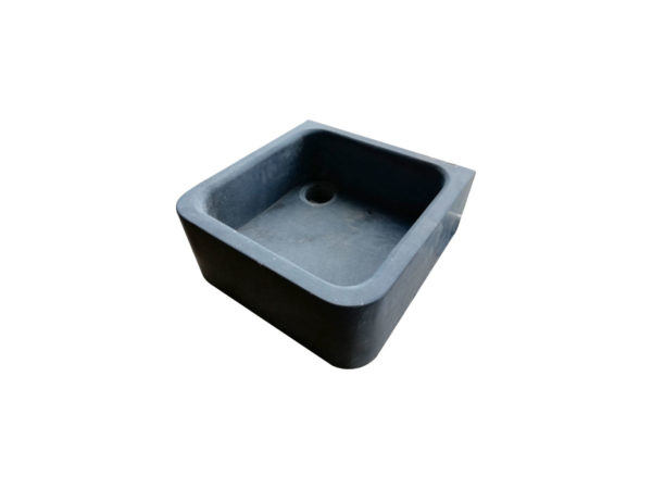 square bluestone sink for kitchen