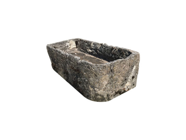 ancient limestone trough in small size