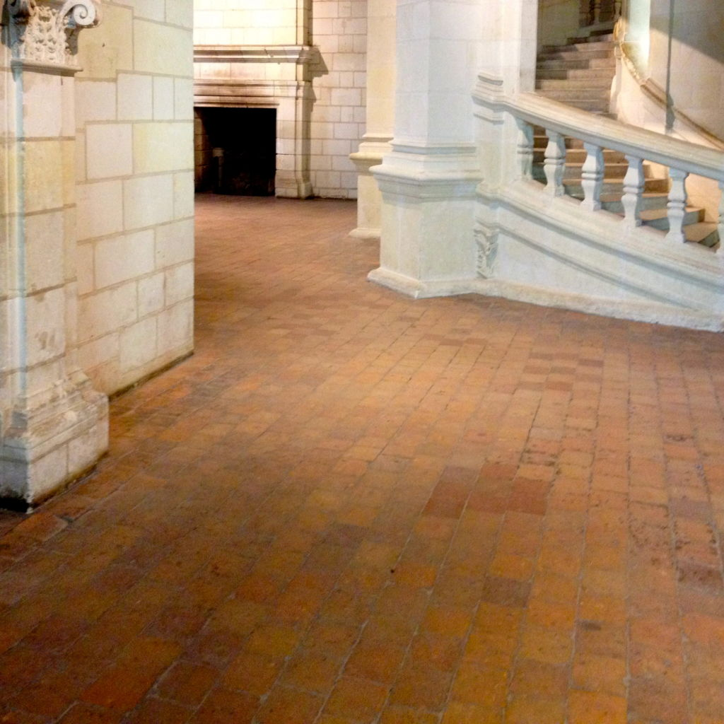 chambord terra cotta antique flooring from france