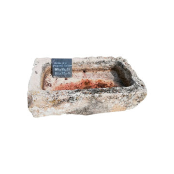 trough with authentic and antique patina