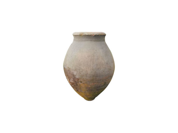 antique amphora jar in garden