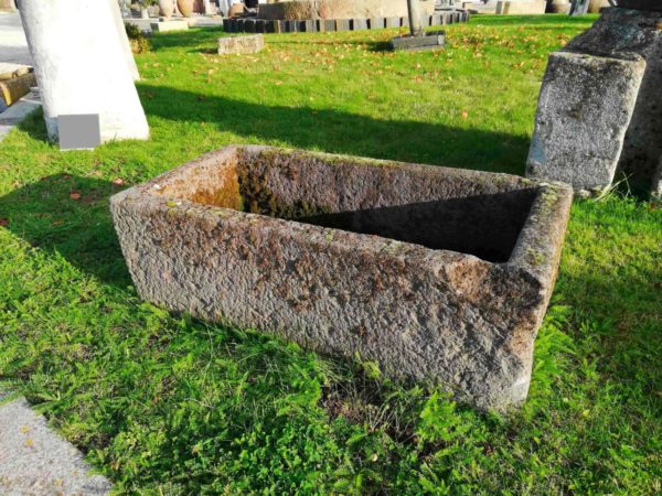antique stone trough for garden salvage