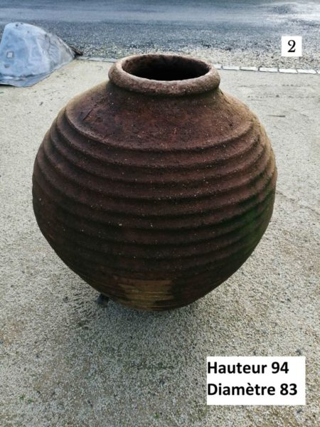 big terra-cotta jar