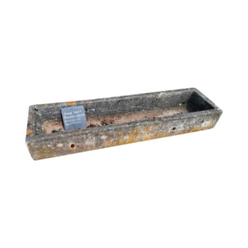 long antique trough materials