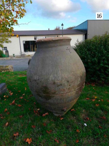 old terra-cotta jar