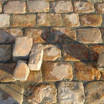 antique french cobblestone invalides at BCA Materials