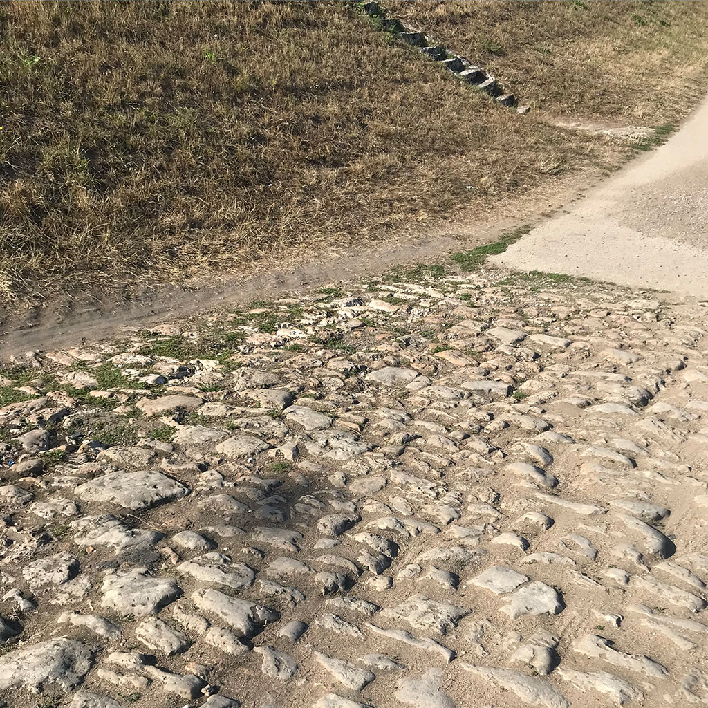 antique cobble limestone from chaumont