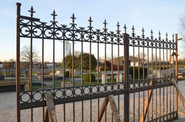 cast iron gates from France
