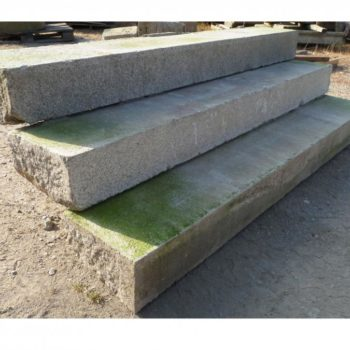 our french antique granite steps