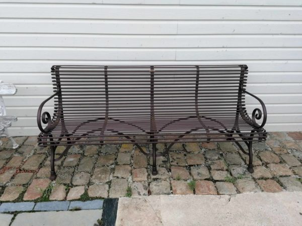 4 seats in our classic bench architectural salvage