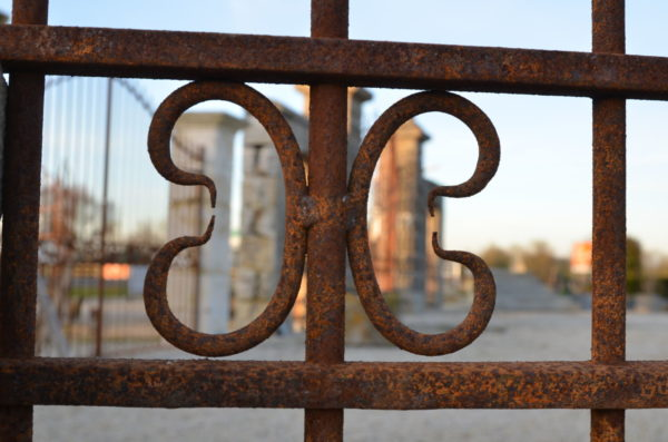 details of our iron entrabce gates in our showroom