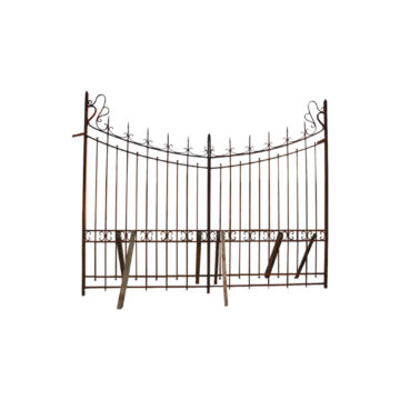forged steel antique entrance gates from our showroom in france