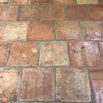 reclaimed terra cotta tiles from BCA premises