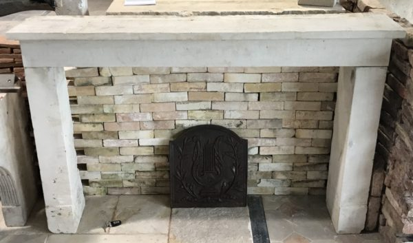 stone fireplace for kitchen exemple