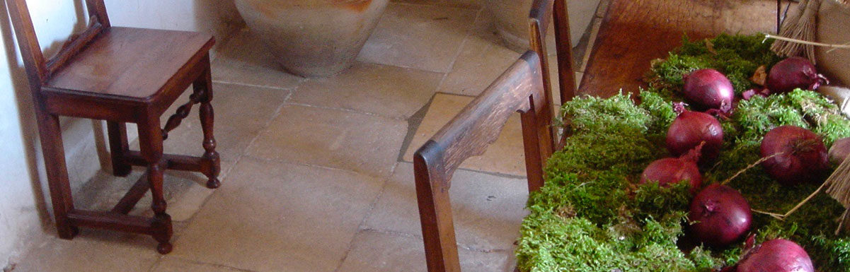antique kitchen flagstones chenonceau from France
