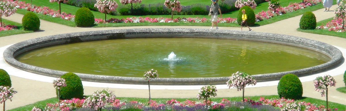 antique stone pool surrounds comparable to chateau