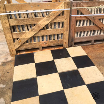 black and white flagstone equivalent to chenonceau