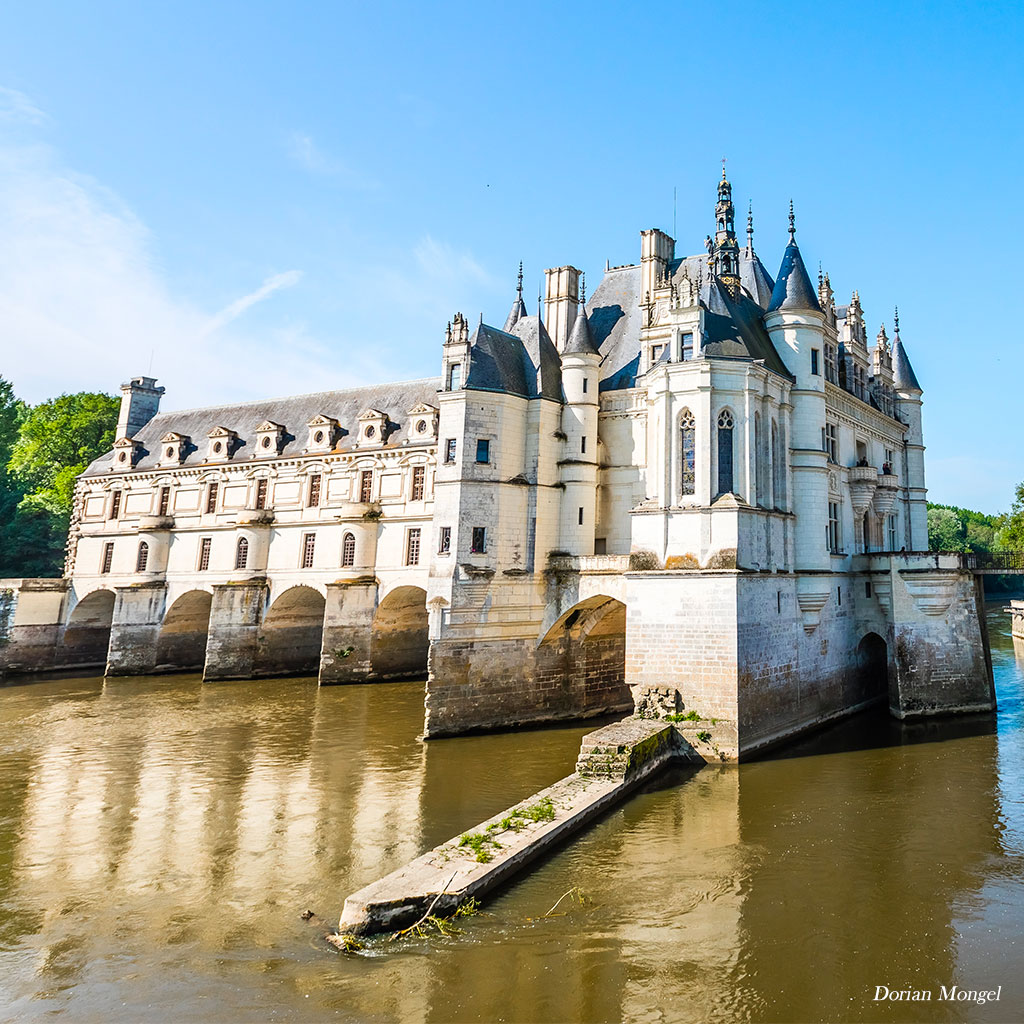 great photographer at chenonceau