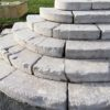 antique and historic stone steps details