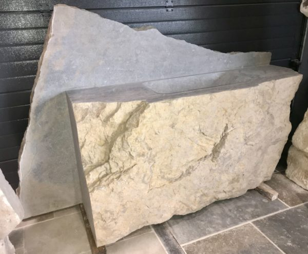 stone washbasin in our showroom