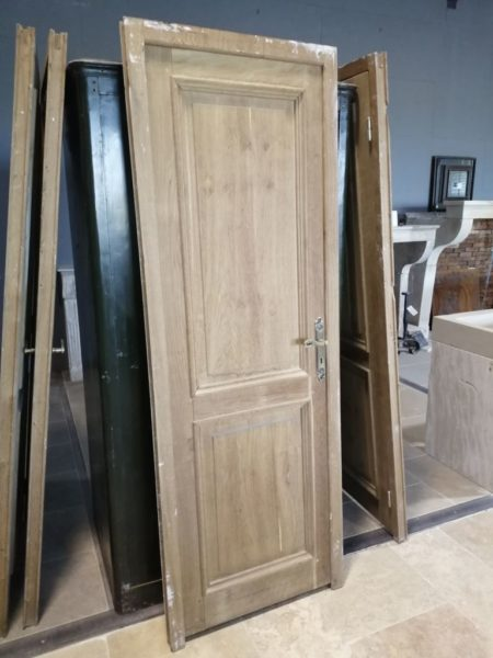 antique oak door in reclaimed wood