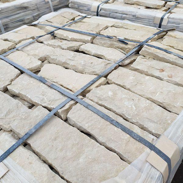 beige limestone facing stone