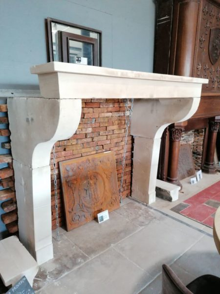 old farmhouse fireplace mantel