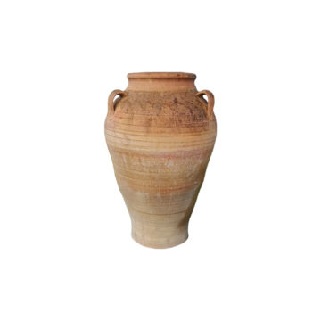 antique terra-cotta jar with handles