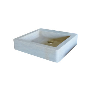 beige mera soft finish washbasin