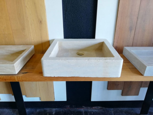 in front of the beige mera soft finish washbasin