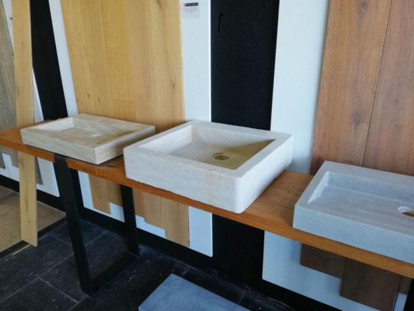 beige mera soft finish washbasin right side