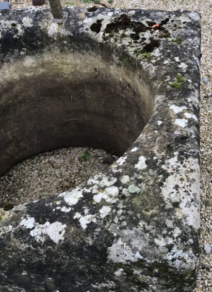 antique well in limestone reclaimed
