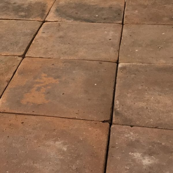 antique terracotta large floor tiles