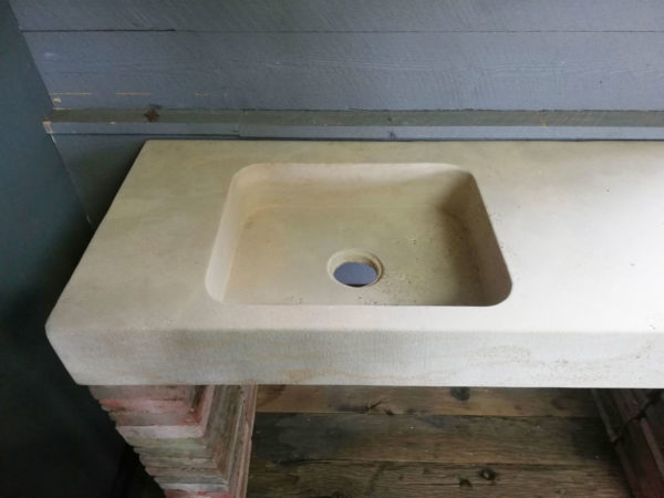 large soft finish mera beige sink or washbasin