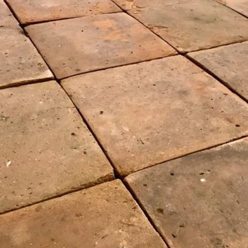 Reclaimed Terracotta Tiles French