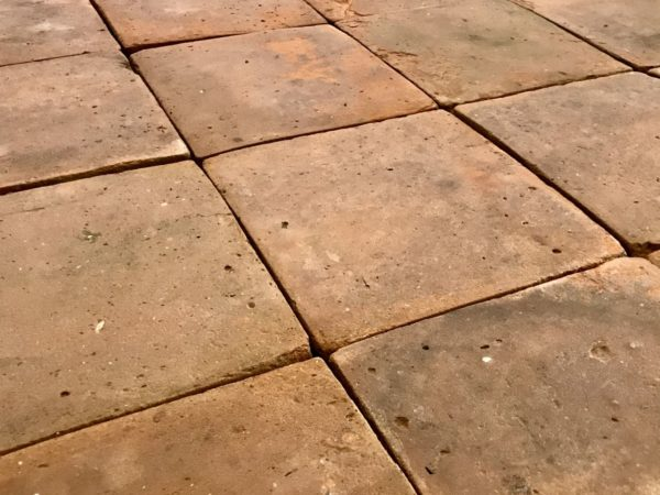 reclaimed terra-cotta floor tiles large size