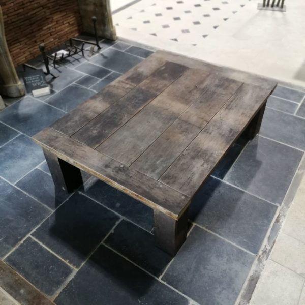 Coffee table in our showroom