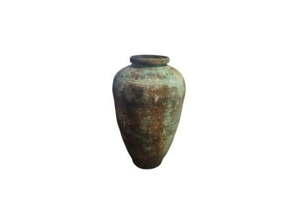 terra-cotta jar with old patina